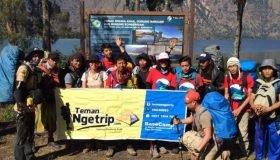 Opentrip Gunung Rinjani 2018