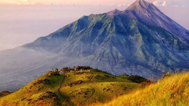 Opentrip merbabu menggunakan chip Radio frequency identification (RFID).
